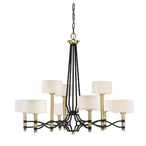 Buy Harwell 9-Light Shaded Chandelier!