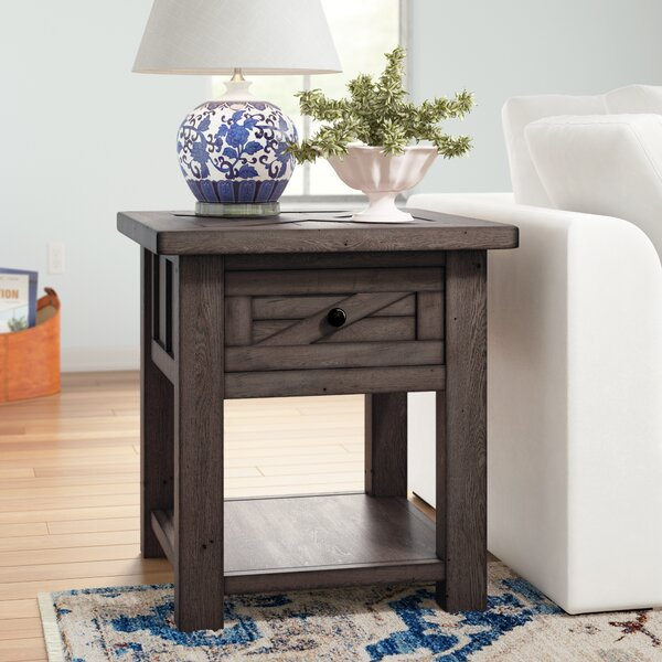 Roopville End Table By Three Posts