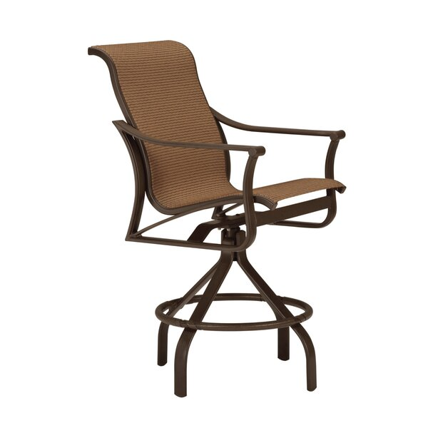 Corsica Swivel 27 Patio Bar Stool by Tropitone