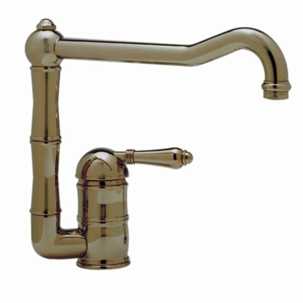 Country Single Handle Kitchen Faucet with Side Spray by Rohl