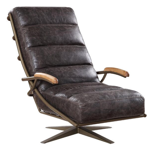Roehl Swivel Lounge Chair By Union Rustic