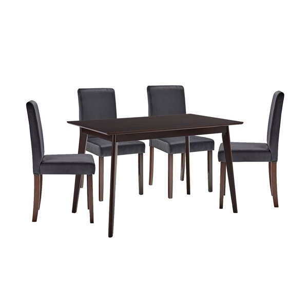 Yseult 5 Piece Dining Set By Latitude Run