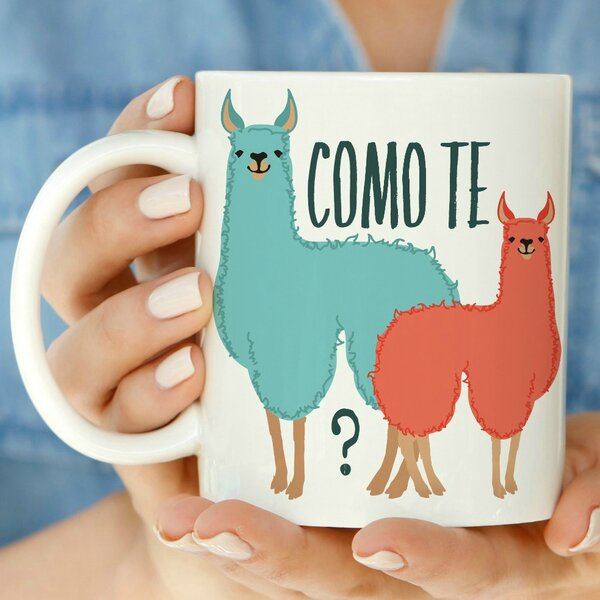 Como Te Llamas Mug by Love You A Latte Shop
