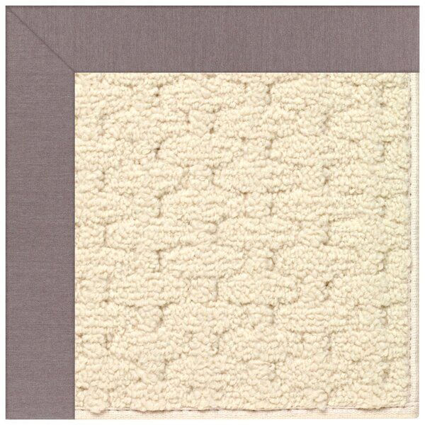 Lisle Off White Indoor/Outdoor Area Rug by Longshore Tides