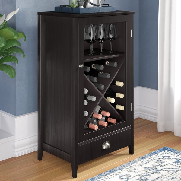 Bangor 24 Bottle Floor Wine Cabinet by Darby Home Co Darby Home Co