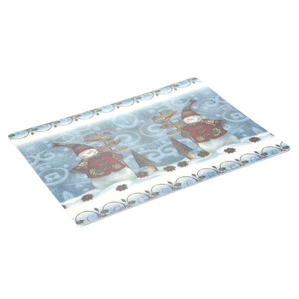 Snow Friends Expanded Placemat (Set of 4) by Carnation Home Fashions