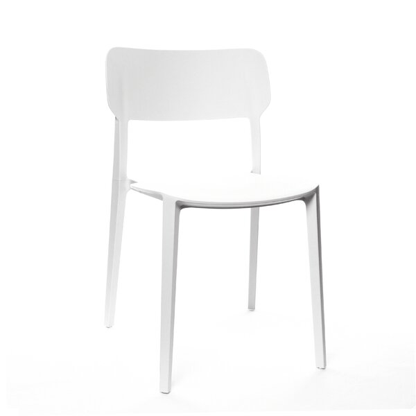 Gourley Modern Stackable Dining Chair (Set of 4) by Ivy Bronx