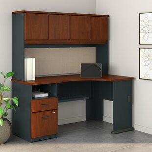 Series A L Shaped Corner Desk with Hutch