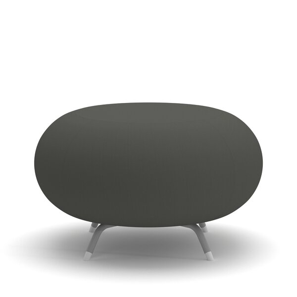 Pebble Scalloped Ottoman by Allermuir