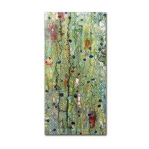 In Vitro by Sylvie Demers Painting Print on Wrapped Canvas by Trademark Fine Art