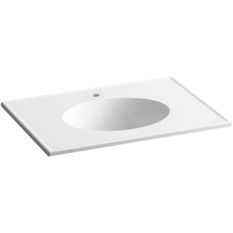 "Kohler Ceramic Impressions 31"" Single Bathroom Vanity Top ..."