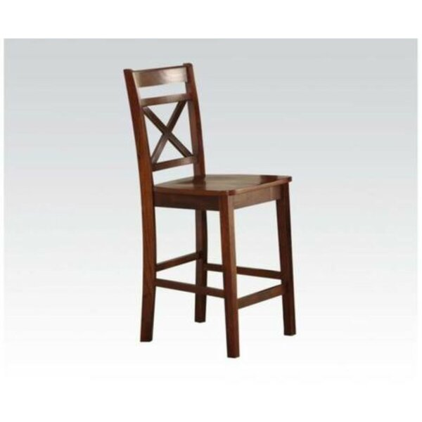 Raquel Counter Height Solid Wood Dining Chair (Set Of 2) By Millwood Pines by Millwood Pines Looking for