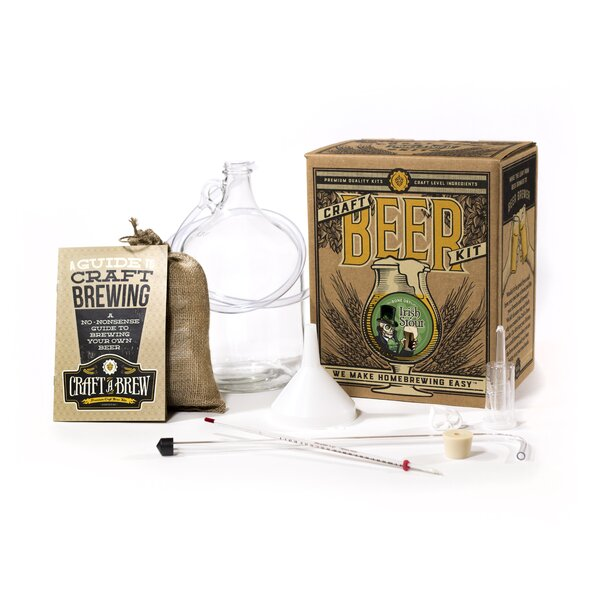 Bone Dry Irish Stout Craft Beer Kit by Craft A Brew