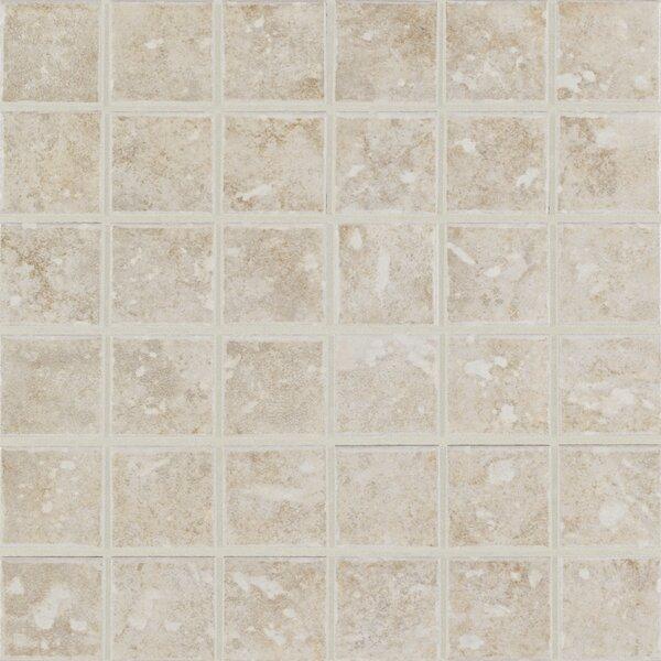 San Perla 2 x 2 Ceramic Mosaic Tile in Provincial Pearl by Mohawk Flooring
