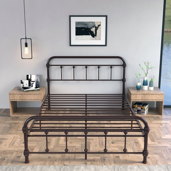 Imkamp Metal Platform Bed by Charlton Home