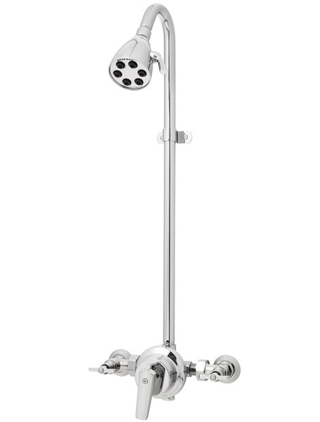 Icon 6-Jet 2.0 GPM Wall Mount Outdoor Shower by Sp