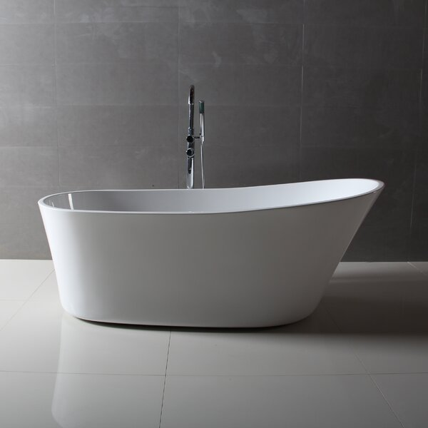 Benerento 32 x 68 Freestanding Soaking Bathtub by Dyconn Faucet
