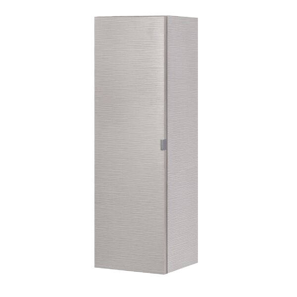 Textures 15 W x 48 H Wall Mounted Cabinet by Cutler Kitchen & Bath