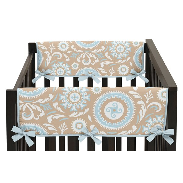 Hayden Side Crib Rail Guard Cover (Set of 2) by Sweet Jojo Designs