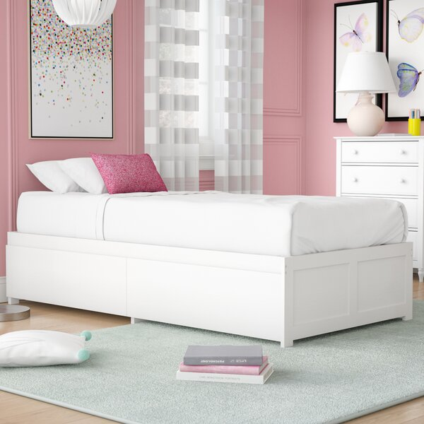 Bolick Extra Long Twin Platform Bed with Drawers by Isabelle & Max