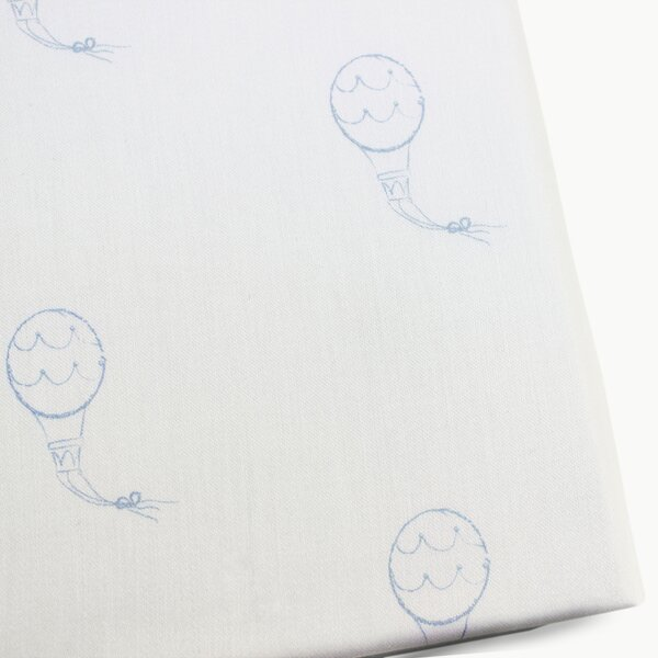 Hot Air Balloons Fitted Crib Sheet by Pemberley Ro