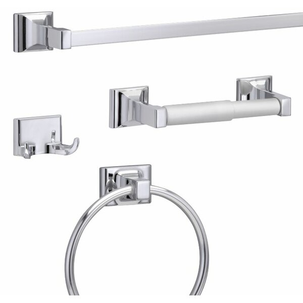 Sunglow 4 Piece Bathroom Hardware Set by Wildon Home ®