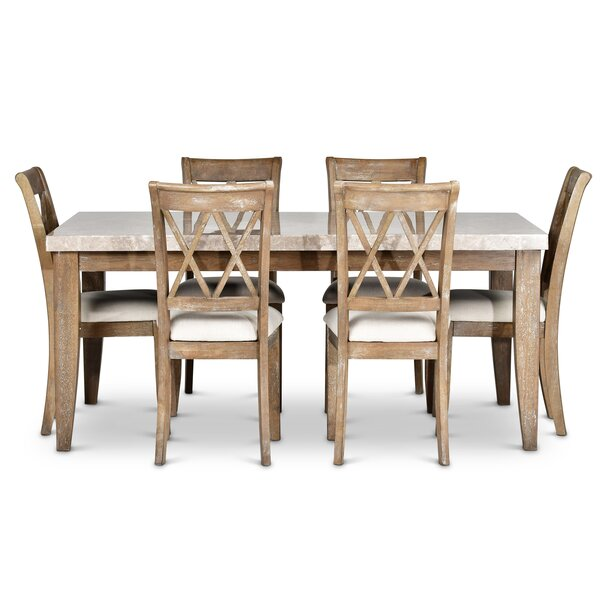 Clearmont 7 Piece Dining Set by Three Posts