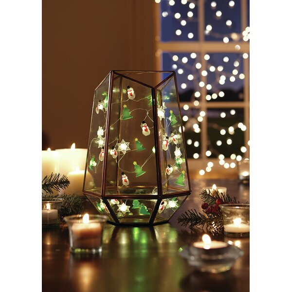 LED 10 Warm Light String Lights by The Holiday Aisle
