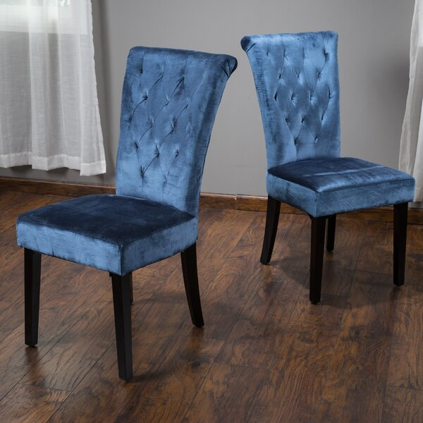 Amazing Craighead Upholstered Dining Side Chair (Set Of 2) By Mercer41 2019 Coupon