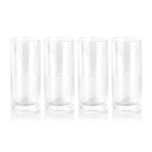 Mote 15 oz. Glass Highball Glass (Set of 4) by Latitude Run