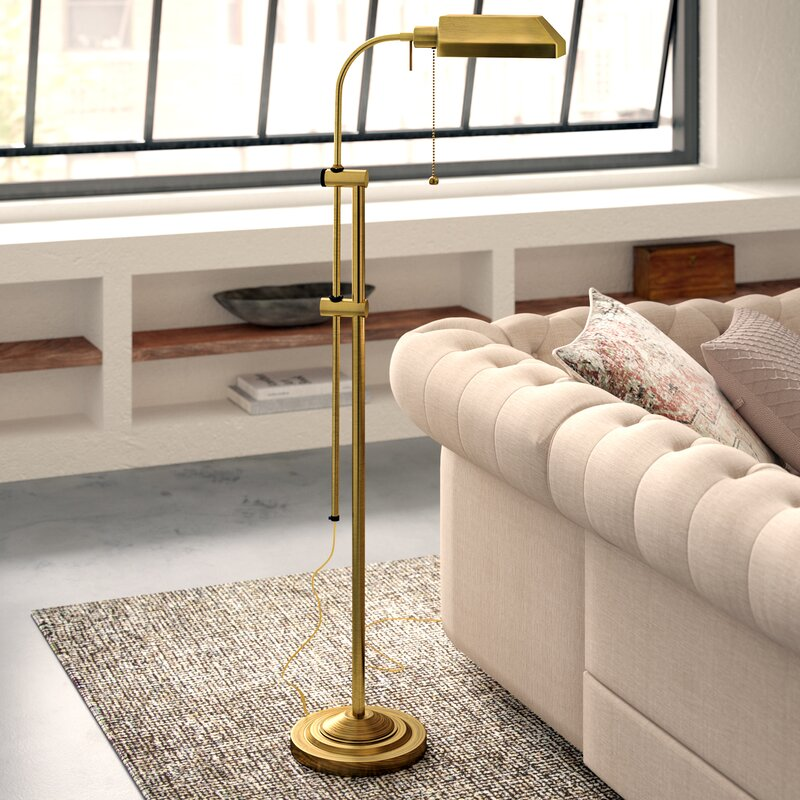 Brownington Utility 59 in. Task Floor Lamp