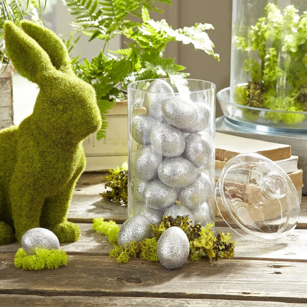 Glitter Easter Eggs (Set of 2) by Birch Lane™