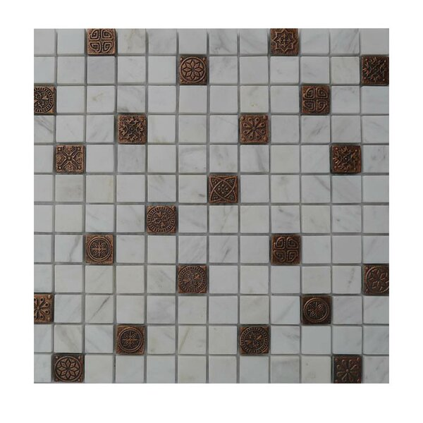 Glass Mosaic Tile in Gray/Brown by QDI Surfaces