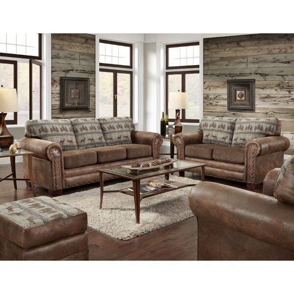 Deer Lodge 4 Piece Sleeper Living Room Set by American Furniture Classics