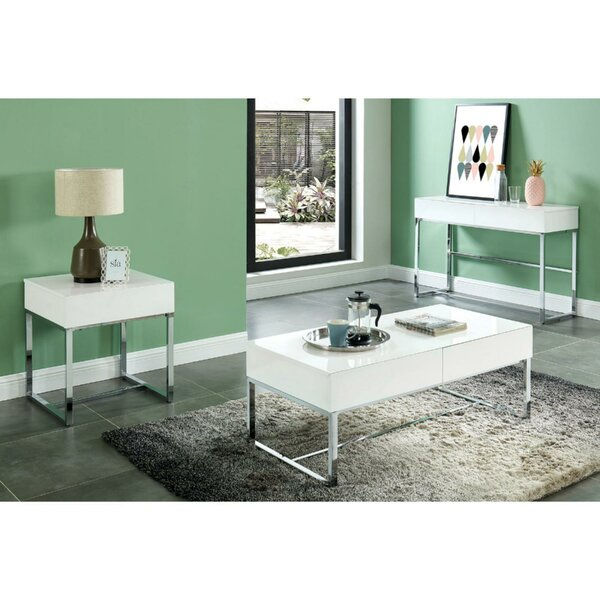 Darya Contemporary Rectangular Coffee Table By Orren Ellis