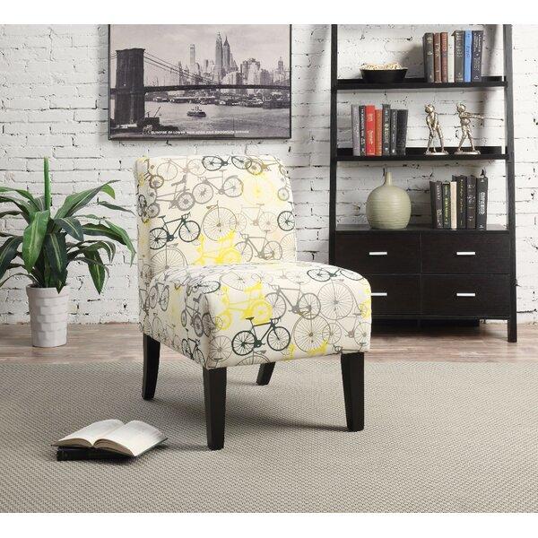 Casanova Slipper Chair by Ebern Designs