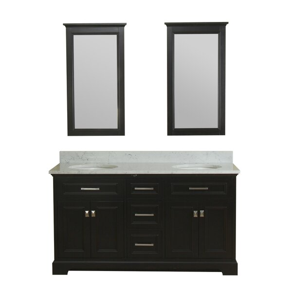 Coston 61 Double Bathroom Vanity Set by Red Barrel Studio