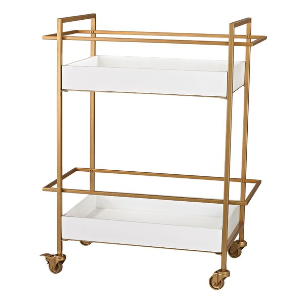 Tecca Bar Cart by Willa Arlo Interiors Willa Arlo Interiors