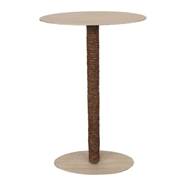 Ellinger Top And Rope Accent End Table By Breakwater Bay