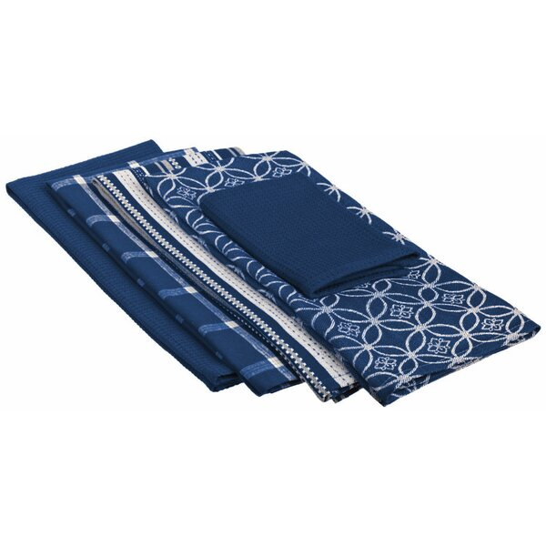 Nautical Dishtowel and Dishcloth (Set of 5) by Darby Home Co