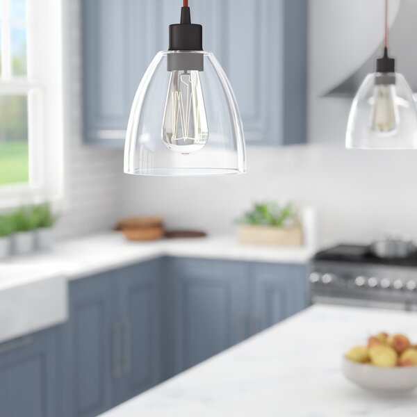 Cyrus 1-Light Cone Pendant by Andover Mills