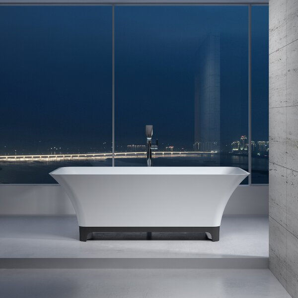 67 x 67 Freestanding Soaking Bathtub by InFurniture