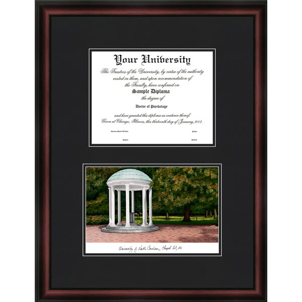 NCAA University of North Carolina, Chapel Hill Diplomate Diploma Picture Frame by Campus Images