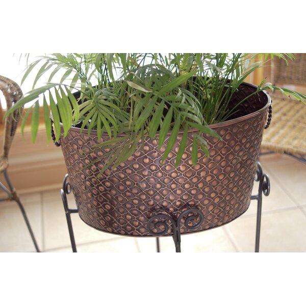 Metal Pot Planter by Kindwer