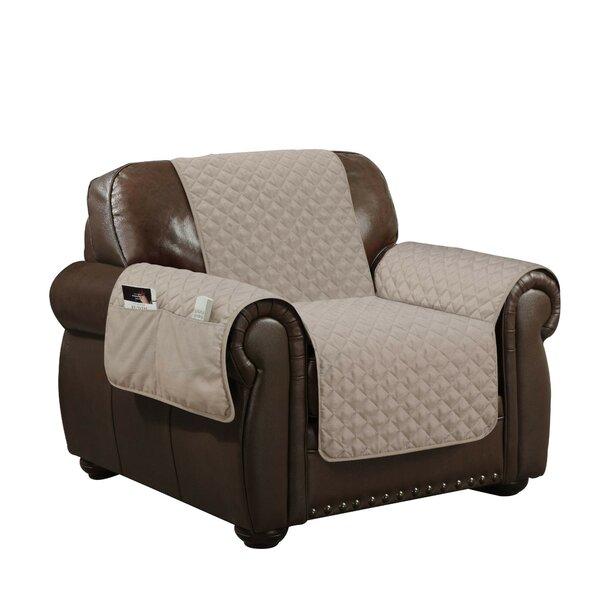 Linen Box Cushion Armchair Slipcover By Winston Porter