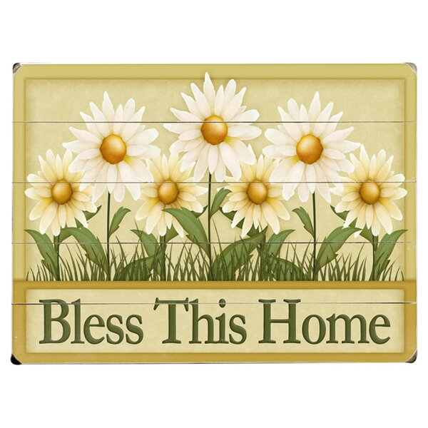 Bless This Home Graphic Art Print Multi-Piece Image on Wood by Artehouse LLC