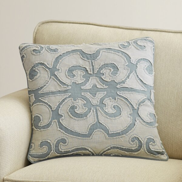 Rushford Linen Throw Pillow by Three Posts
