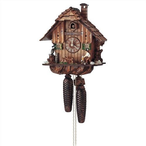 8 Day Movement Cuckoo Wall Clock by Schneider