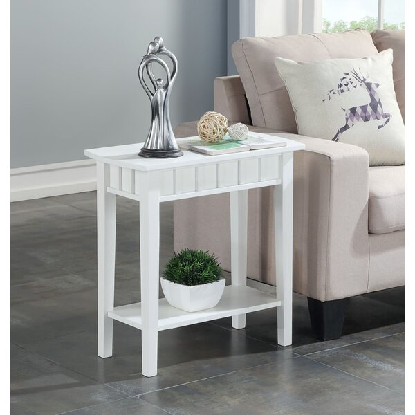 Classic Accents Bolander End Table With Storage By Breakwater Bay