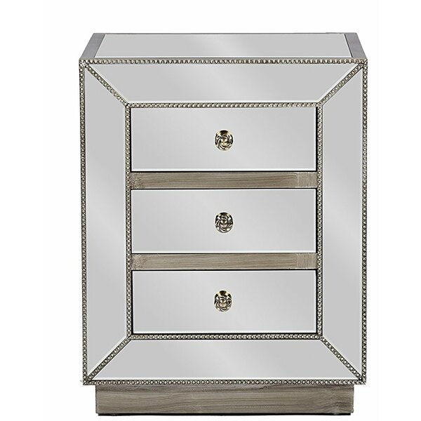 Martinson 3 Drawer Nightstand (Set of 2) by Rosdorf Park